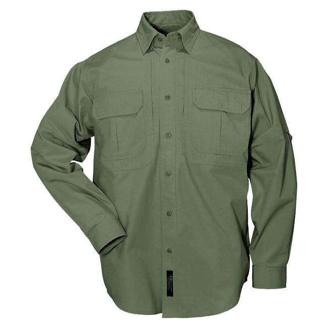 5.11 Tactical Long Sleeve Shirt - Green da2dbe7e0e5