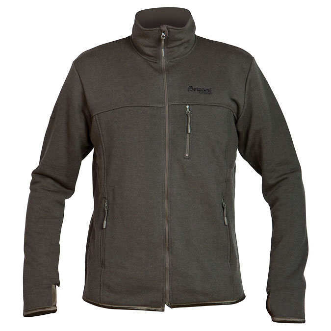 Bergans Nittedal Flame Resistant Jacket - Dark Olive (Click for full size)
