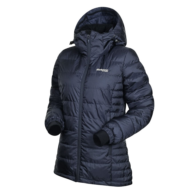Bergans Rjukan Women's Down Jacket - Navy (Click for full size)