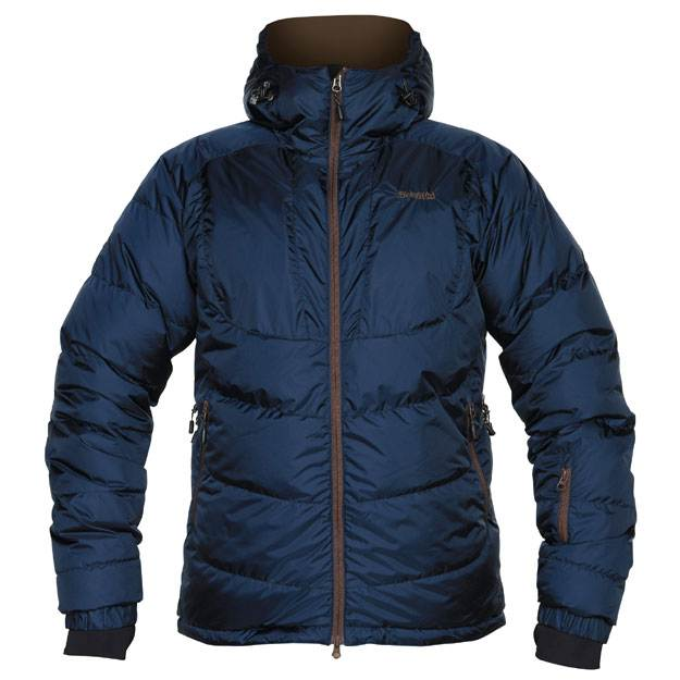 Bergans Sauda Down Jacket - Navy/Cafe (Click for full size)
