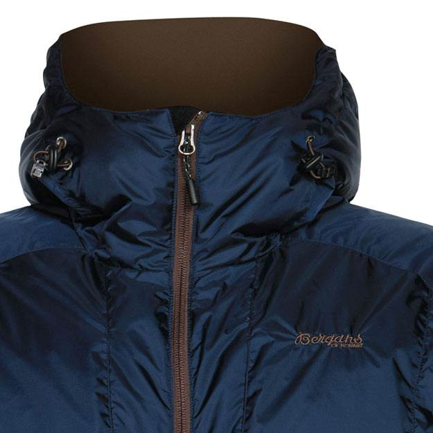 Bergans Sauda Down Jacket - hood detail (Click for full size)