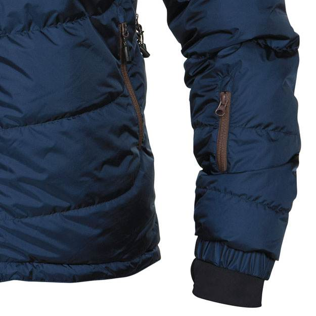 Bergans Sauda Down Jacket - pocket/sleeve detail (Click for full size)