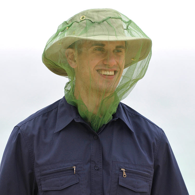 Bugproof Mosquito Head Net (Click for full size)