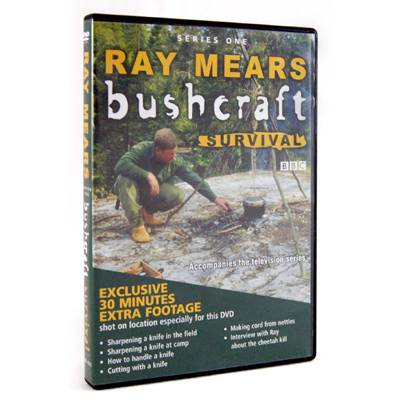 Ray Mears Bushcraft Survival - Series 1 DVD (Click for full size)