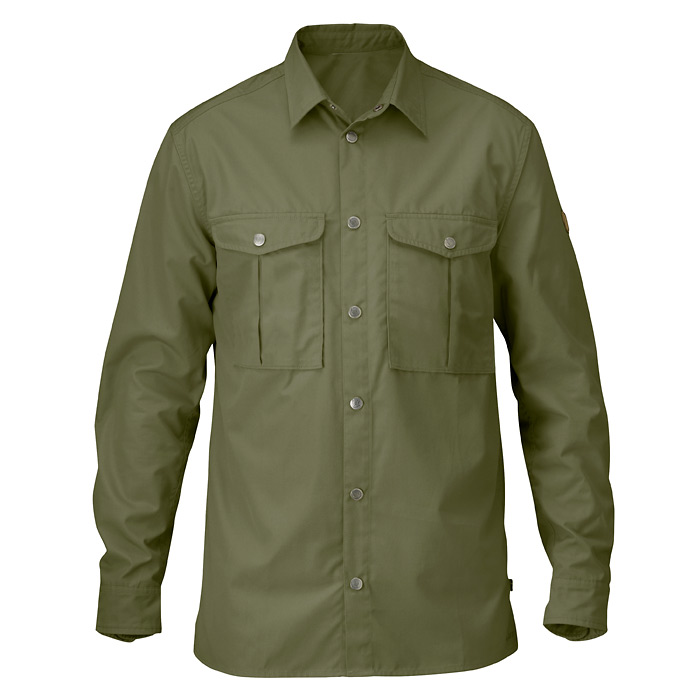 Fjallraven Greenland Shirt - Green (Click for full size)