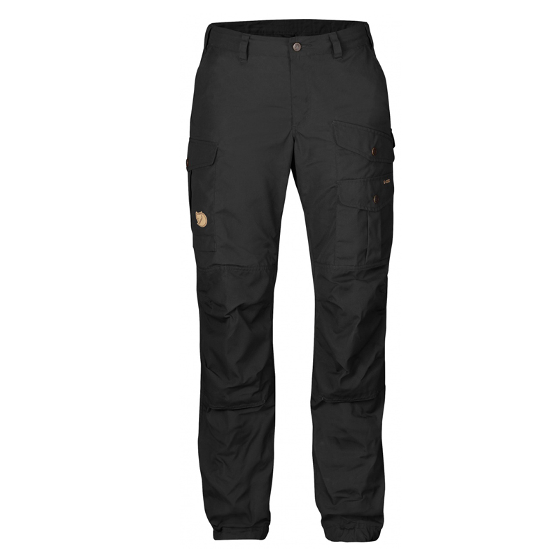 Fjallraven Vidda Pro Regular Women's Trousers - Black