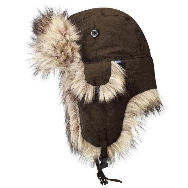 Fjallraven Tur Heater Hat - Brown (Click for full size)