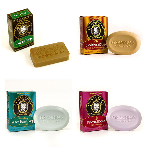 Grandpa's Soap - Variety Pack