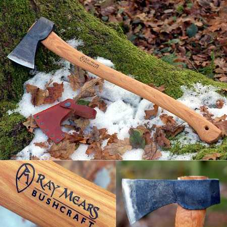 The Gransfors Ray Mears Wilderness Axe (Click for full size)