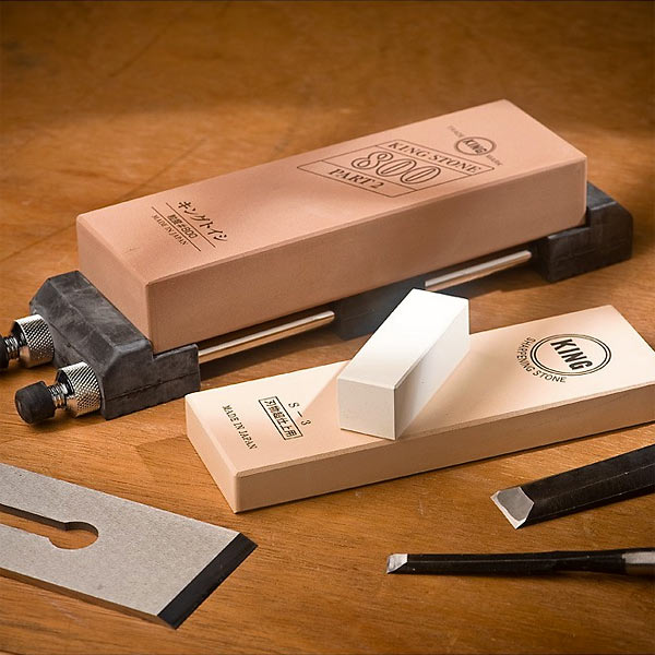 Ice Bear Japanese Waterstone Sharpening Kit (Click for full size)