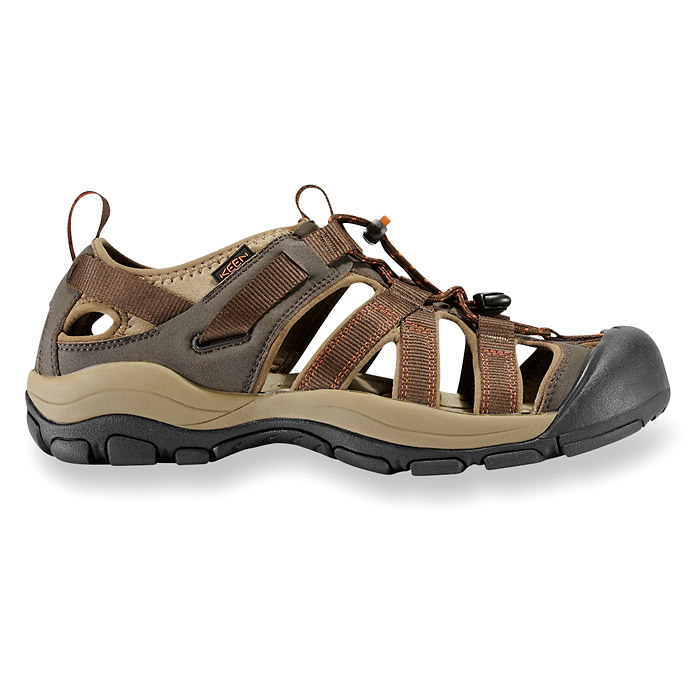 Keen Owyhee Sandals - Slate Black/Rust (Click for full size)