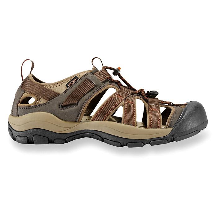 KEEN Owyhee Sandals - Slate Black/Rust