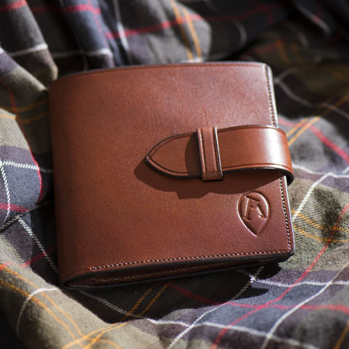 Ray Mears Leather Document Wallet