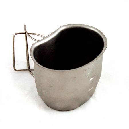Military Stainless-Steel Mug (Click for full size)