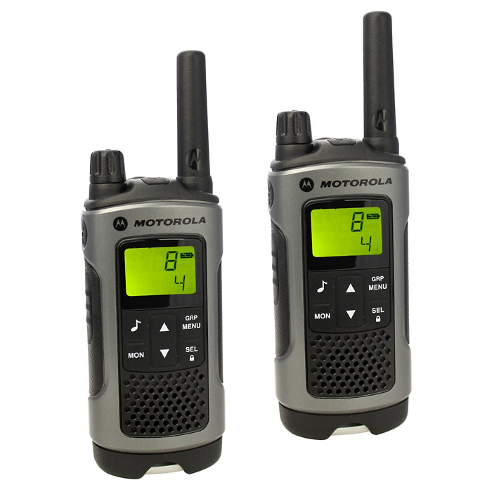 Motorola TLKR T80 Walkie Talkies - Twin Pack (Click for full size)