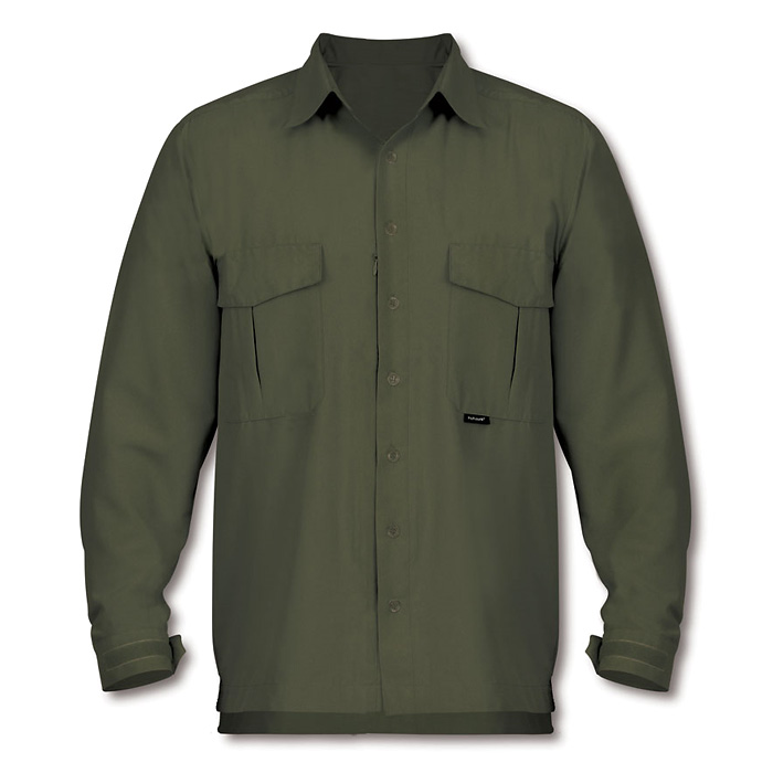 Paramo Katmai Cotton Plus Shirt - Moss