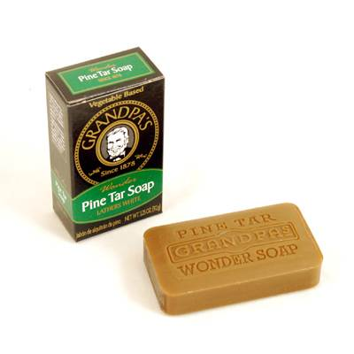 Grandpa's Wonder Pine Tar Soap (Click for full size)