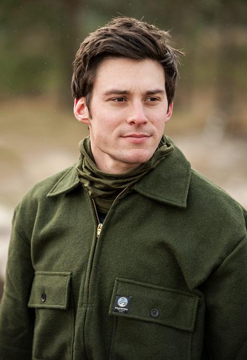 Swanndri Ranger Wool Bushshirt - Olive