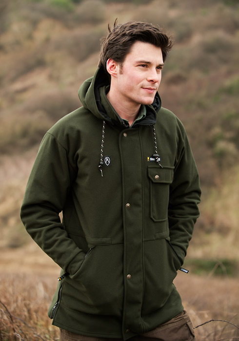 Swazi Windriver Jacket - Olive Green (Click for full size)