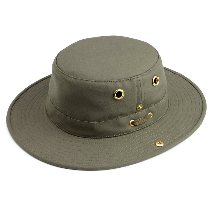 Tilley T3 Cotton Duck Hat - Olive (Click for full size)