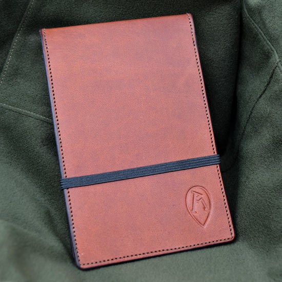 Ray Mears Leather Top-Opening Notebook Cover
