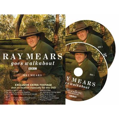 Ray Mears Goes Walkabout DVD (Click for full size)