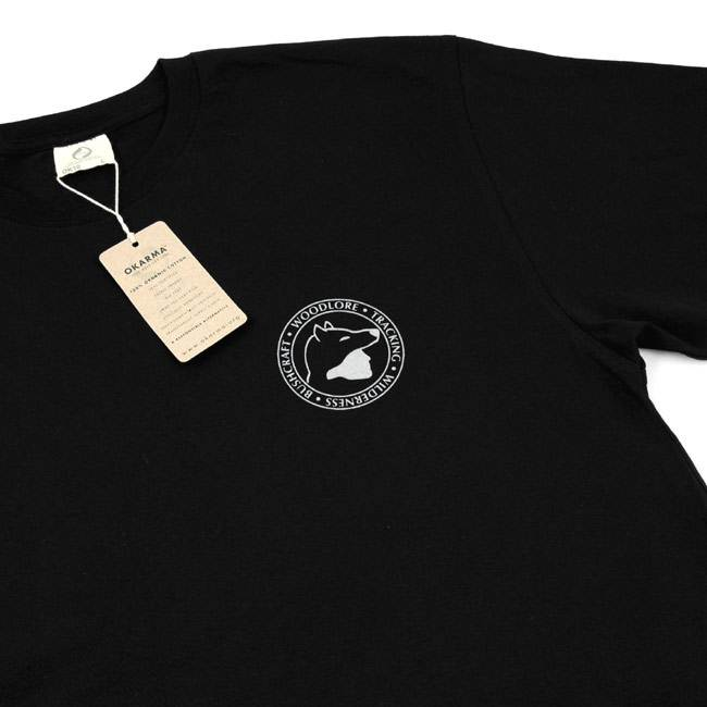 Woodlore Organic Cotton T-shirt - Black (Click for full size)