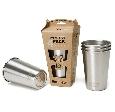 Klean Kanteen Steel Pint Cup - 4 Pack
