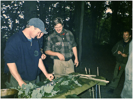Ray Mears, the early years of Woodlore